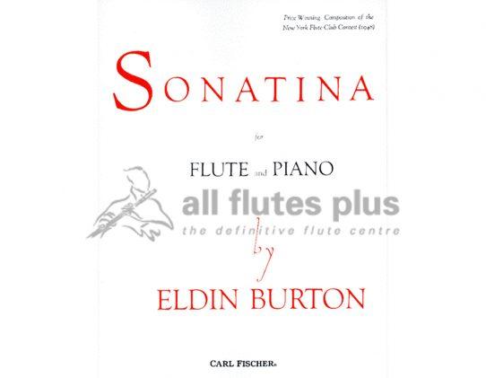 Burton Sonatina-Flute and Piano-Fischer