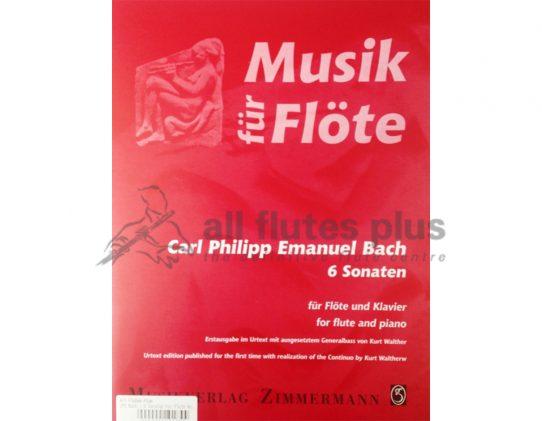 C. P. E. Bach - 6 Sonatas for Flute
