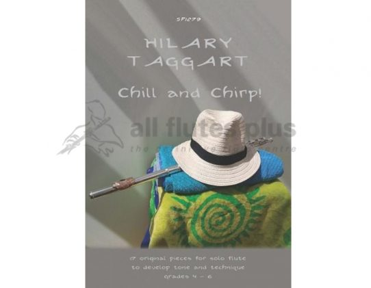 Chill and Chirp-17 Original Pieces-Solo Flute-Taggart