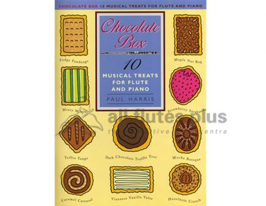 Chocolate Box-10 Musical Treats-Flute and Piano-Harris