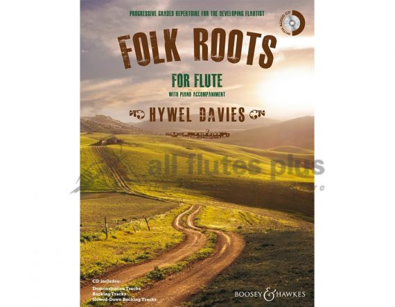 Davies-Folk Roots-Flute and Piano-Backing CD Included