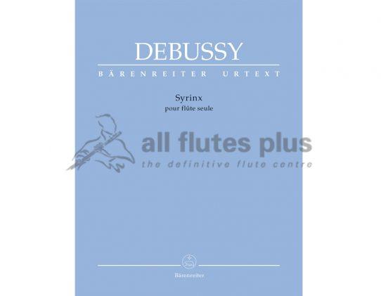 Debussy Syrinx-Solo Flute-Barenreiter
