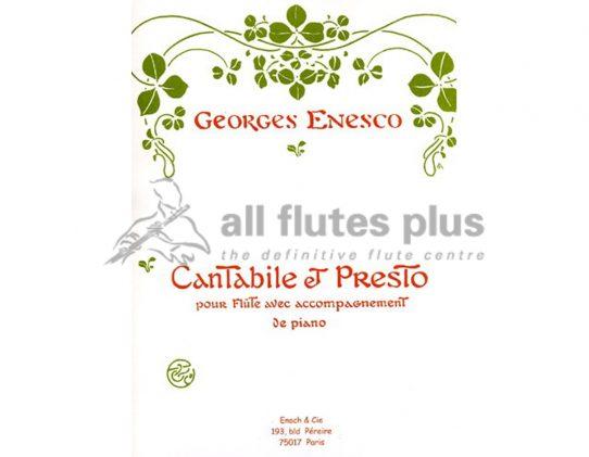 Enesco Cantabile and Presto-Flute and Piano-Enoch