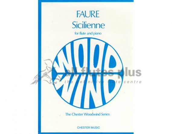 Faure Siciliene-Flute and Piano-Chester