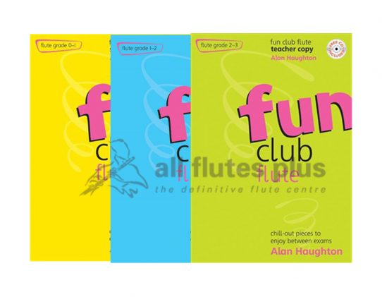 Fun Club with CD-Flute-Student Copy-Alan Haughton