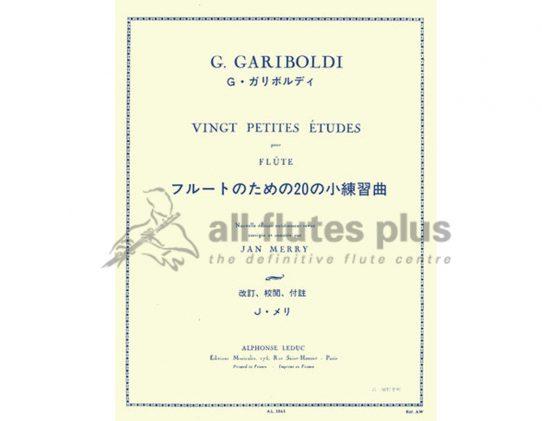 Gariboldi 20 Petites Études Flute Leduc