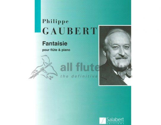 Gaubert Fantaisie-Flute and Piano-Salabert