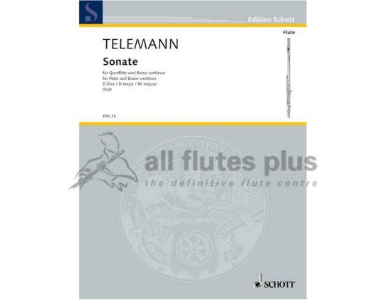 Georg Philipp Telemann Sonata in D TWV 41:D9 Schott