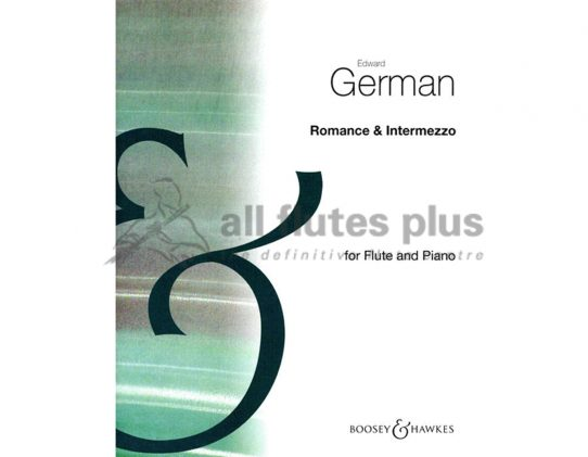 German Romance and Intermezzo-Flute and Piano-Boosey and Hawkes