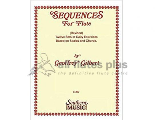 Gilbert Sequences for flute-Southern Music Company
