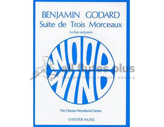 Godard Suite De Trois Morceaux-Flute and Piano-Chester