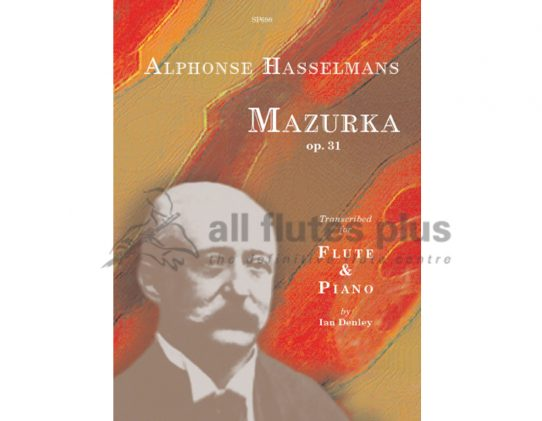 Hasselmans Mazurka Opus 31-Flute and Piano-Spartan Press