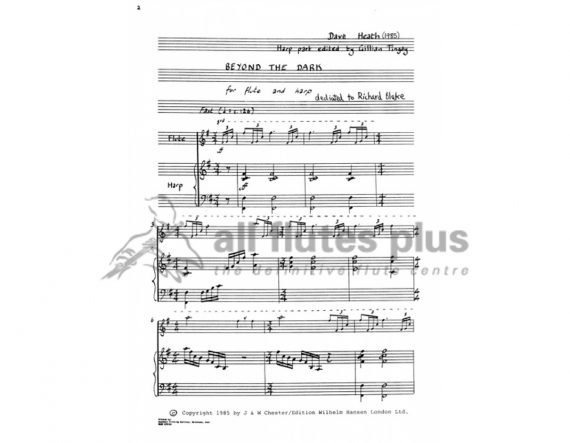 Heath-Beyond The Dark-Flute and Harp