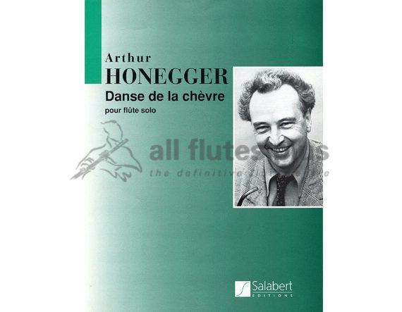 Honegger Danse de la Chevre-Solo Flute-Salabert