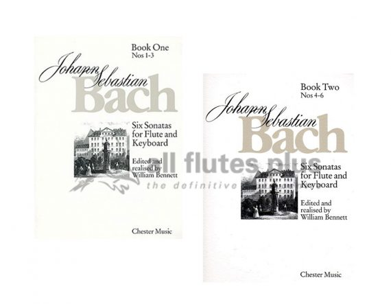 JS Bach 6 Sonatas-Flute and Piano-Edited by William Bennett-Chester