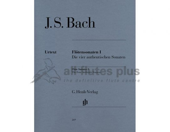 JS Bach Flute Sonatas Volume 1-Urtext Edition-Henle