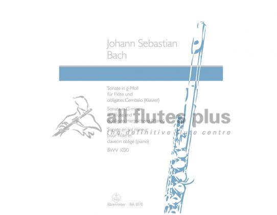 JS Bach Sonata in G minor BWV1020-Flute and Piano-Barenreiter
