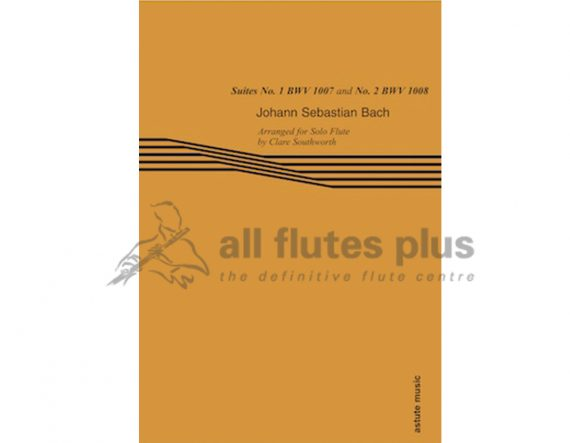 JS Bach-Suites No 1 BWV1007 and No 2 BWV1008-Flute Solo