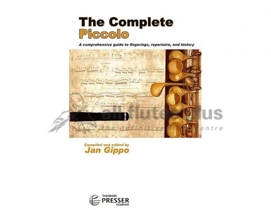 Jan Gippo The Complete Piccolo-Theodore Presser