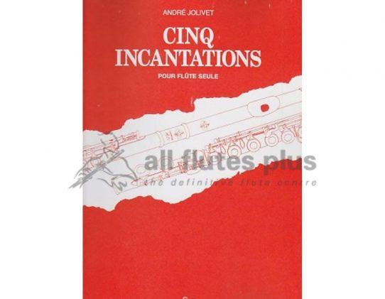 Jolivet Cinq Incantations-Solo Flute-Boosey and Hawkes