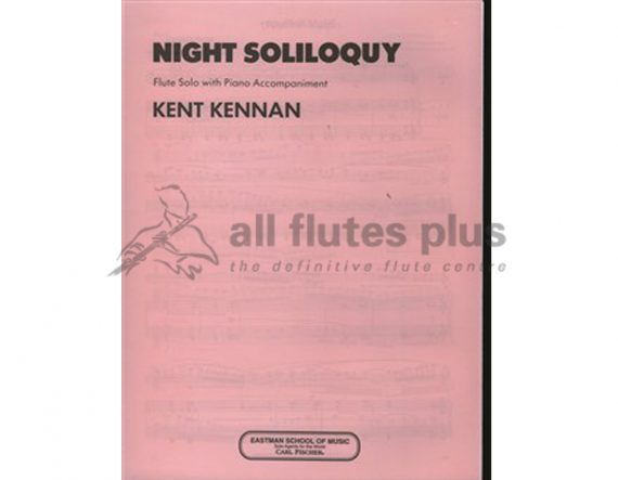 Kennan Night Soliloquy-Flute and Piano