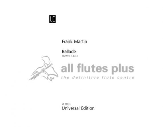 Martin Ballade-Flute and Piano-Universal
