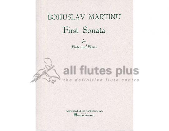 Martinu First Sonata-Flute and Piano-Hal Leonard