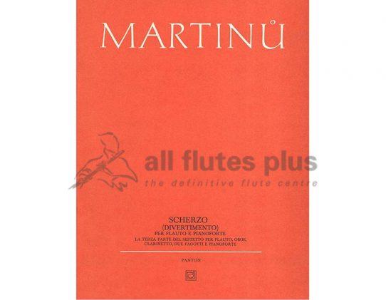 Martinu Scherzo-Flute and Piano-Barenreiter