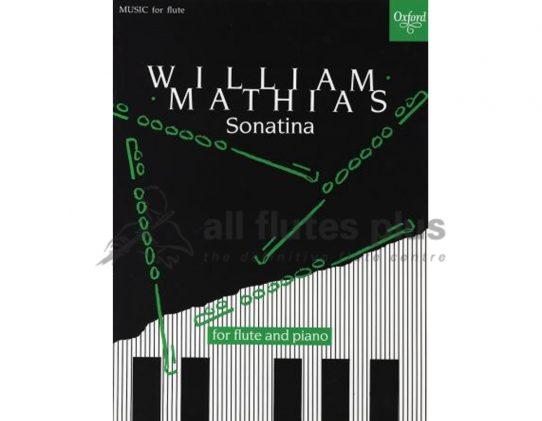 Mathias Sonatina-Flute and Piano-OUP