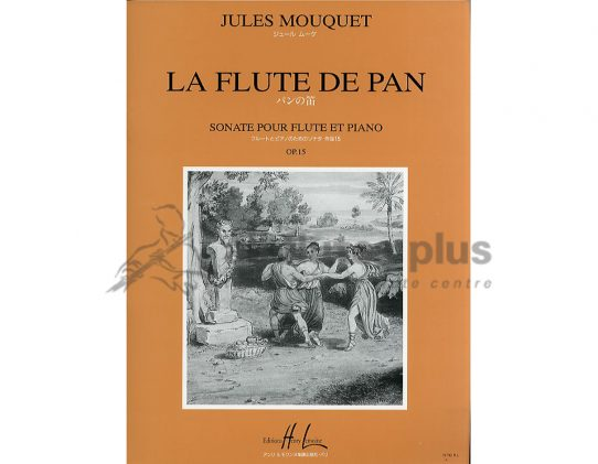 Mouquet La Flute De Pan Opus 15-Flute and Piano-Lemoine