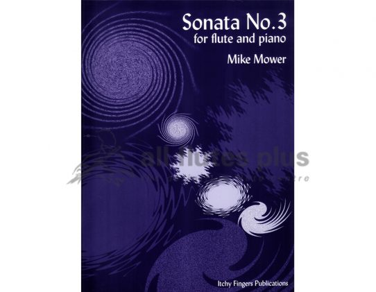 Mower Sonata No 3-Flute and Piano-Itchy Fingers Publications