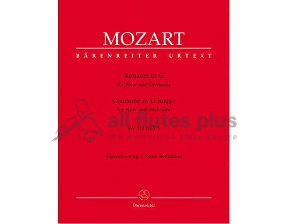 Mozart Concerto in G Major-KV313-Flute and Piano Reduction-Barenreiter
