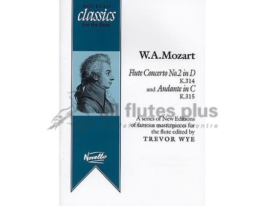 Mozart Flute Concerto No.2 in D K314 and Andante in C K315-Novello