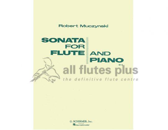 Muczynski Sonata Opus 14-Flute And Piano-Schirmer