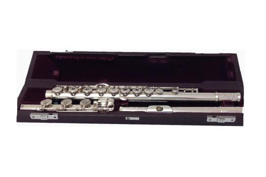 Muramatsu SR Model Silver Secondhand Flute with B Foot-c6948