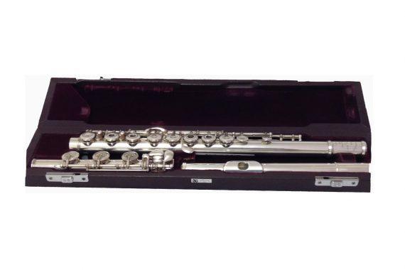 Muramatsu SR Model Silver Secondhand Flute with B Foot-c6948