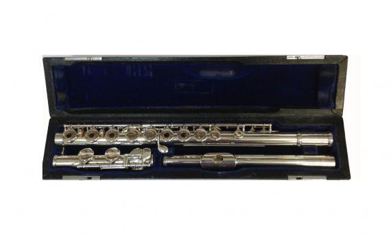 Muramatsu Silver Secondhand Flute-c7582