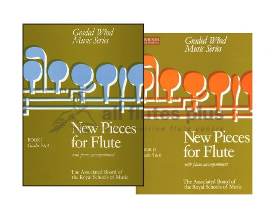 New Pieces for Flute-Flute and Piano-ABRSM