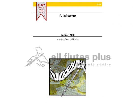 Noll Nocturne-Alto Flute and Piano-Alry