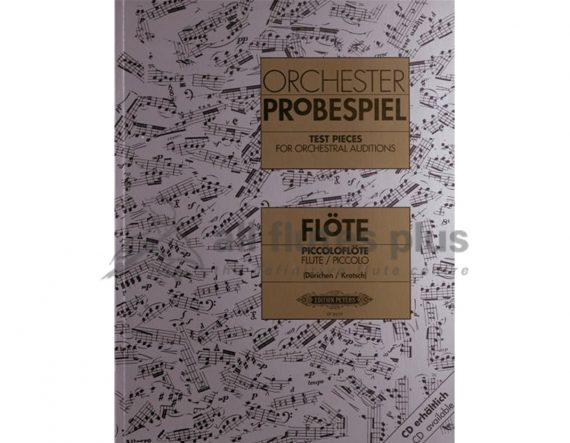 Orchester-Probespiel-Test Pieces for Orchestral Auditions Flute and Piccolo