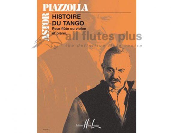 Piazzolla Histoire Du Tango-Flute and Piano-Lemoine