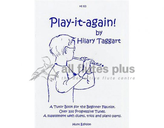 Play It Again-A Tutor Book for the Beginner Flautist-Taggart