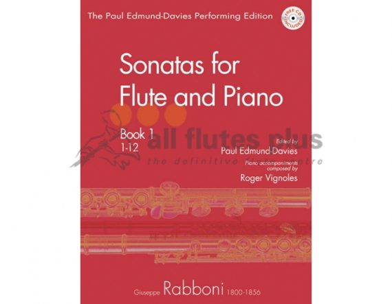 Rabboni Sonatas Book One-Flute Piano and CD-Mayhew