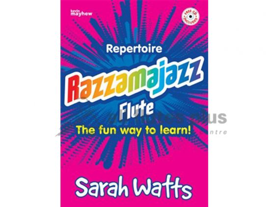 Razzamajazz Repertoire Flute with CD-Sarah Watts