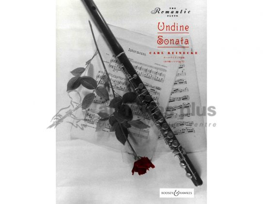Reinecke Undine Sonata Opus 167-Flute and Piano-Boosey and Hawkes