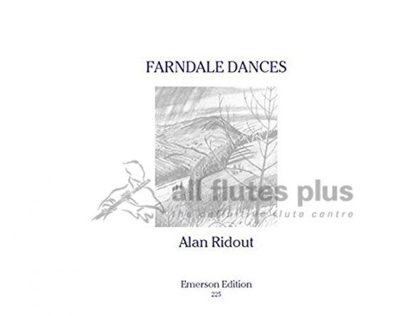 Ridout Farndale Dances-Solo Piccolo-Emerson