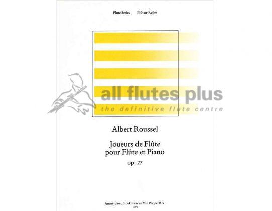 Roussel Joueurs de Flute Opus 27-Flute and Piano-Broekmans