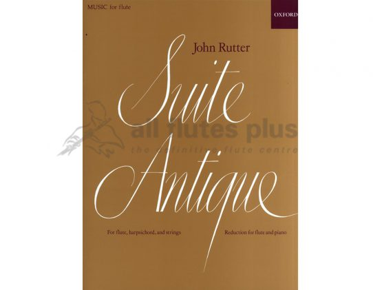 Rutter-Suite Antique-Flute and Piano-OUP