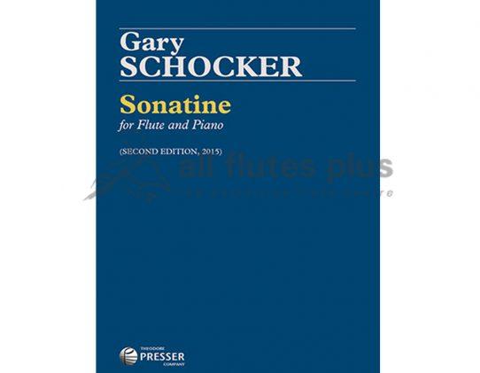 Schocker Sonatine-Flute and Piano-Presser-Second Edition