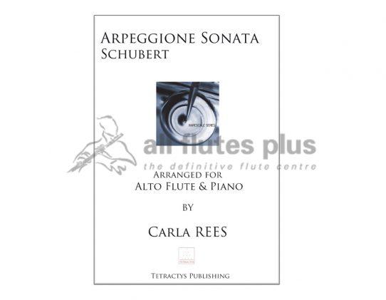 Schubert Arpeggione Sonata-Alto Flute and Piano Arrangement